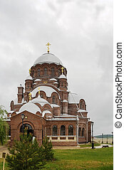 The Cathedral in honor of the icon of the Mother of God was built by design of architect F.D. Malinovsky in 1906.