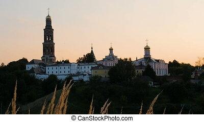 St. John the Theologian Monastery Poschupovo village At dawn