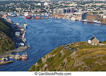 St Johns Harbour, Newfoundland Canada