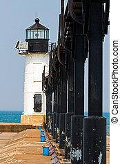 St. Joseph North Pier Outer Light, Michigan