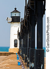 St. Joseph North Pier Outer Light, Michigan