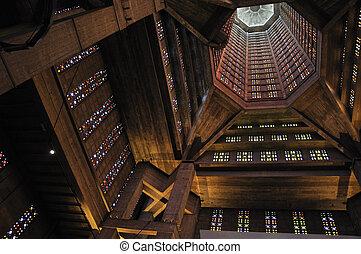 St. Joseph\'s Church, Le Havre, interior - St. Joseph\'s...