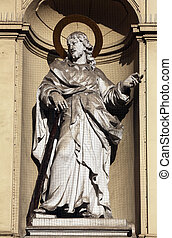 St. Jude Thaddeus, Church of Saint Peter in Vienna, Austria...