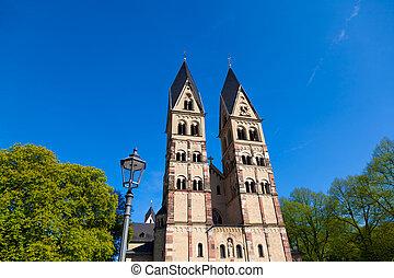 St. Kastor Church in Koblenz