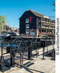 St Katherine's Dock in London