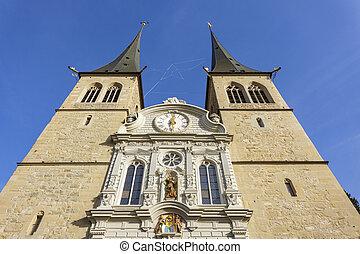 St. Leodegar Church in Lucerne