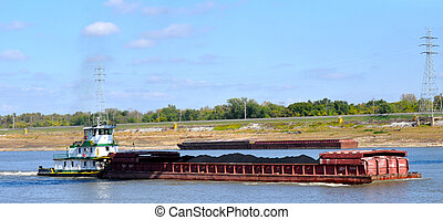 St Louis Missouri - 11 - River tour down the Mississippi...