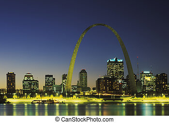 st. louis, skyline