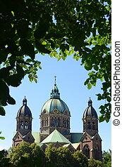 St. Lukas Evangelical Lutheran Church in Munich, Bavaria