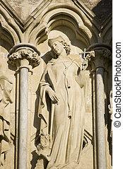 St Margaret of Antioch statue, Sali