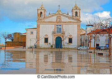 St. Maria church in Lagos Portugal