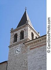 St. Maria Maggiore Church. Spello. Umbria.