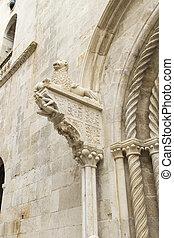 St. Mark Cathedral at Korcula, Croatila