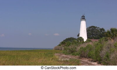 St Marks Lighthouse - Built in 1831 on the shores of...