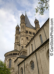 St Martin Church. Cologne, Germany