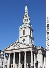 St Martin church in the Fields, London