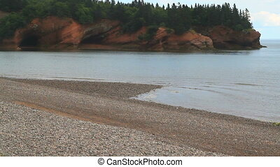 St. Martins coast Sea Caves-UNESCO Fundy Biosphere