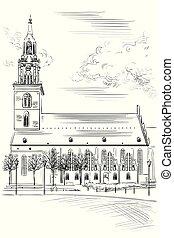 st. mary, iglesia, berlín