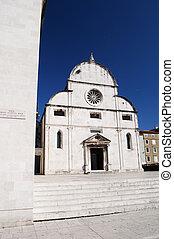st. mary, kirche, in, zadar, kroatien