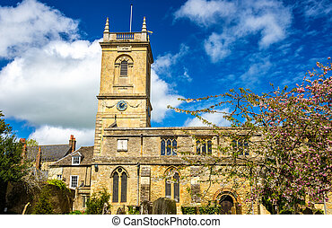 St Mary Magdalene church in Woodstock, Oxfordshire - England