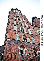 St Mary's church in Cracow (Poland)