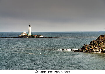 St Mary's lighthouse, Whitley Bay, Tyne and Wear