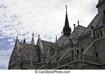 St. Matthias Churc in Budapest, Hungary