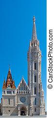 St. Matthias church in Budapest, Hungary.