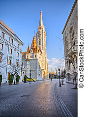 St Matthias church in Budapest, Hungary