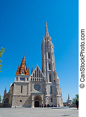 St. Matthias church in Budapest, Hungary.