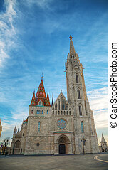 St Matthias church in Budapest
