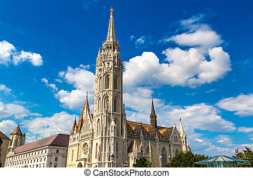St. Matthias Church in Budapest