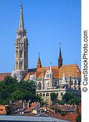 St. Matthias Church in Budapest,Hungary.