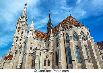 St. Matthias Church - St. Matthias church with a beautiful...