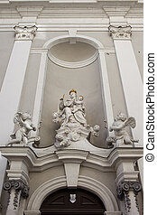 St Michael Church Sculptures in Budapest - Religious...