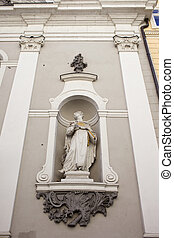 St Michael Church Statue in Budapest