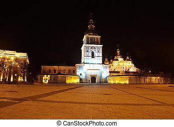 St. Michael's cathedral in Kiev, Ukraine