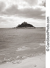 St Michaels Mount Cornwall castle England