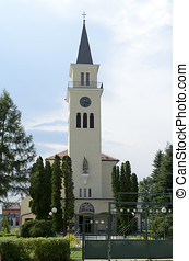 St Mikulas church in Tvrdonice
