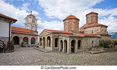 St. Naum monastery near Ohrid, Macedonia - St. Naum ...