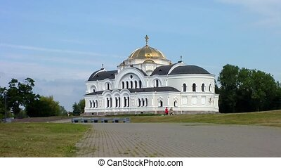 Brest Fortress. - St. Nicholas Cathedral of the garrison in...
