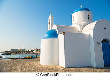 St. Nicolas Church. Protaras, Cyprus - St. Nicolas (Agios ...