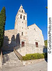 St. Nikola Church in Town of Komiza on Vis Island Off the Croatian Coast
