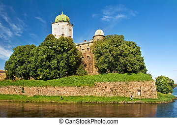 St Olaf castle in Vyborg