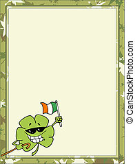 St Paddy's Day Clover