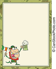 St Paddy's Day Leprechaun