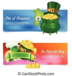 St. Patrick Day Banners