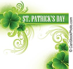 St. Patrick Day poster a