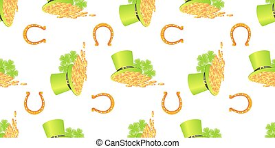 St Patrick day seamless