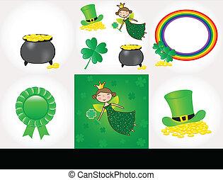 St Patrick day set